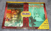 Chronicles Of Narnia Lion Witch Exclusive Wal-mart Dvd + Book New Sealed