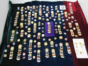 100+ Years Religious Pins Gold Silver Gf Gp Copper Brass 100and039s Of Pins