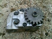 Farmall 1066 Tractor Ih Ihc Good Working Power Steering Pump Assembly Anddrve Gear