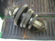 Farmall 400 450 G Or D Tractor Set Of Upper Ih Transmission Gears And Drive Shaft