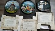Lot Of 3 The Sound Of Music Collector Plates Do Re Mi . Sound Of Music Laendler