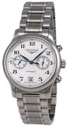 Longines Master Collection Automatic Chronograph Steel Mens Watch L2.669.4.78.6