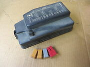 Toyota Tercel 96 1996 Fuse Relay Box Cover W/ Main Fuse + Fuse Puller Tool