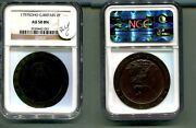 1797 Soho Great Britain 2 Pence Coin Ngc Au50