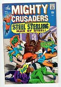Mighty Comics Group Mighty Crusaders 7 Oct 1966 Vintage Comic Vf/nm