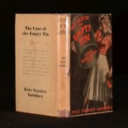 1943 The Case Of The Empty Tin Scarce First Australian Edition Perry Mason