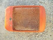 Allis Chalmers B Tractor Original Factory Ac Front Nose Cone Grill W/screen B