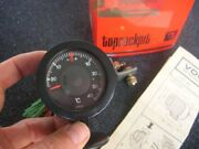 Vdo Thermometer With Holder And Sender Unit - Vintage Car Accessory Thermo - Nos