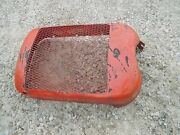 Allis Chalmers C Tractor Nice Original Ac Front Nose Cone Grill Dent Free Bonnet