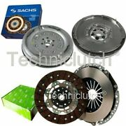 Valeo 2 Part Clutch Kit And Sachs Dmf For Vw Caddy Estate 1.9 Tdi 4motion