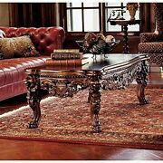 Af7280- The Lord Raffles Grand Hall Lion Leg Coffee Table - New