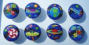 8 Out Of This World Space 2 M/ Bedding Dresser Drawer Knobs Made As Ordered3