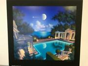 Jim Buckels Freccia D'ore Hand Signed And Numbered Limited Edition Serigraph B