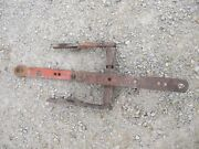 Allis Chalmers Wd Wd45 45 Tractor Ac Orgnal Drawbar Draw Bar Assembly And Brace