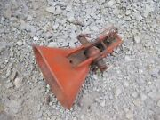 Allis Chalmers Ac Wd Wd45 Tractor Snap Coupler Main Bell Latch Bracket + Chain