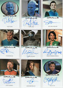 The Orville Season 1 - Complete Master Set - All Autos Relics Exclusives +++