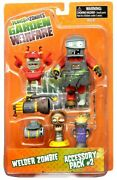 Garden Warfare Series 2 Welder Zombie And Accessory Pack 2 Action Figure 2-pack