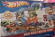 2013 Hot Wheels Race Rally Water Park New. Nib Collectible Never Opened