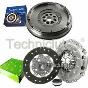 Valeo 3 Part Clutch And Sachs Dmf For Fiat Scudo Platform/chassis 2.0 D Multijet