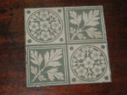 English Victorian Tile Arts And Crafts Design