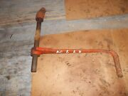 Allis Chalmers G Tractor Original Ac Left Brake Pedal And Pivot Mount Rod To Tract