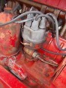 Farmall Ihc 706 Tractor Engine Motor Distributor Drive Assembly Tach Drive Wires