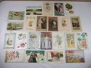 Antique Holiday Postcards Christmas Valentines New Years Easter Thanksgiving ++