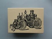 100 Proof Press Rubber Stamps Steam Machine New Wood Stamp