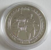 Isle Of Man 1 Crown 2012 Olympics London Running And St Paulandrsquos Cathedral Silver