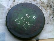 1951 John Deere B Tractor Jd Original Clutch Belt Pulley Outer Cover Panel