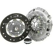 3 Piece Clutch Kit Inc Bearing 240mm For Various Peugeot And Citroen C8 C5 C4