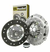 Luk 3 Part Clutch Kit For Peugeot 407 Coupe 2.0 Hdi