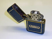 Zippo Wwii Vintage Leather Lighter Fedders Pat. 2032695 1937-1950 U.s.a. Rare