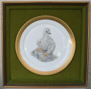Young America 1776 Edward Marshall Boehm - Framed Plate Limited Issue 1973