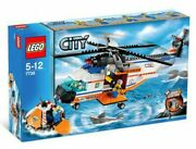 Lego City Coast Guard Helicopter And Life Raft Set 7738