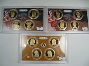 3 Us Presidential Proof Sets 2008-s 2010-s And 2011-s. 1