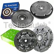 Valeo 2 Part Clutch Kit And Sachs Dmf For Ford Focus Convertible 2.0