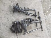 Ferguson To30 To 30 Tractor Set Transmission Drive Gears Top Lower Middle Shaft