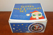 Mary Engelbreit Rare Nos Cookies And Milk For Santa Plate And Mug In Box Me Ink