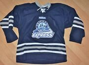Chicago Express Official Reebok Hockey Jersey Defunct Echl Autographed Signed