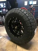 5 18x10 Moto Metal Mo962 35 At Wheel And Tire Package 5x5 Jeep Wrangler Jk Jl Tpm