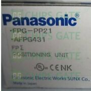 1pcs New Panasonic Positioning Unit Fpg-pp21 Afpg431 Fpgpp21 Fast Ship