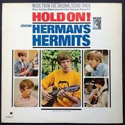 Herman's Hermits Hold On Lp Film Soundtrack Shelley Fabares Sue Ane Langdon Ost