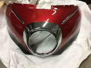 2009 Yamaha Royal Star Front Fairing Cowling Outer Body Upper Red Plastic 09