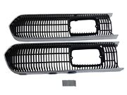Pg Classic 3308s-set Mopar 1968 Plymouth Barracuda Grille Trim And Screen Set