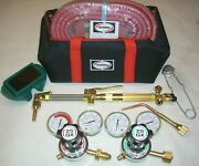 Genuine Harris 4400367 Ironworker Acetylene Cutting Torch Outfit Cga 510 Hhd