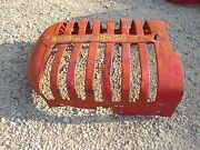 Massey Harris 30 Tractor Original Mh Front Nose Cone Grill Hood Radiator Cover