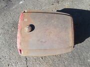 Massey Harris 33 Tractor Good Working Original Mh Gas Tank And Cap Dent Free