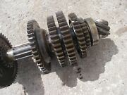 Massey Harris 33 Tractor Mh Main Rearend Set Top Drive Gears And Shaft