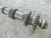 Massey Harris 33 Tractor Mh Main Rearend Set Middle Drive Gears And Shaft
